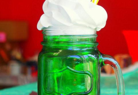 食品サンプル クリームソーダ