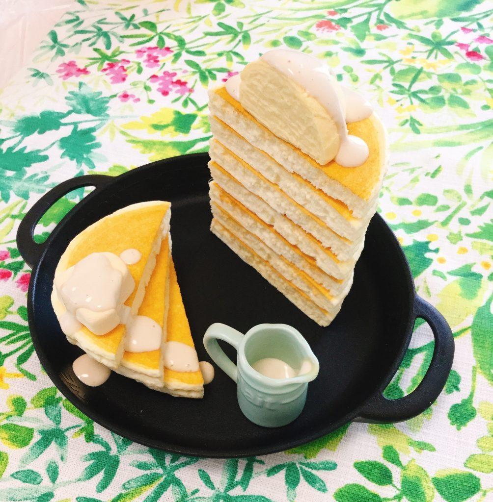 食品サンプル パンケーキ