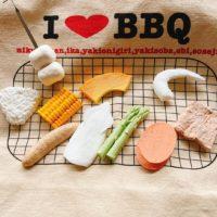 食品サンプル BBQ